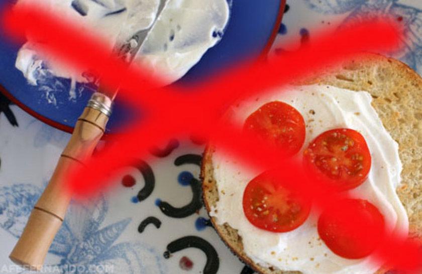 Az yağlı, light ya da krem peynir olmayacak!