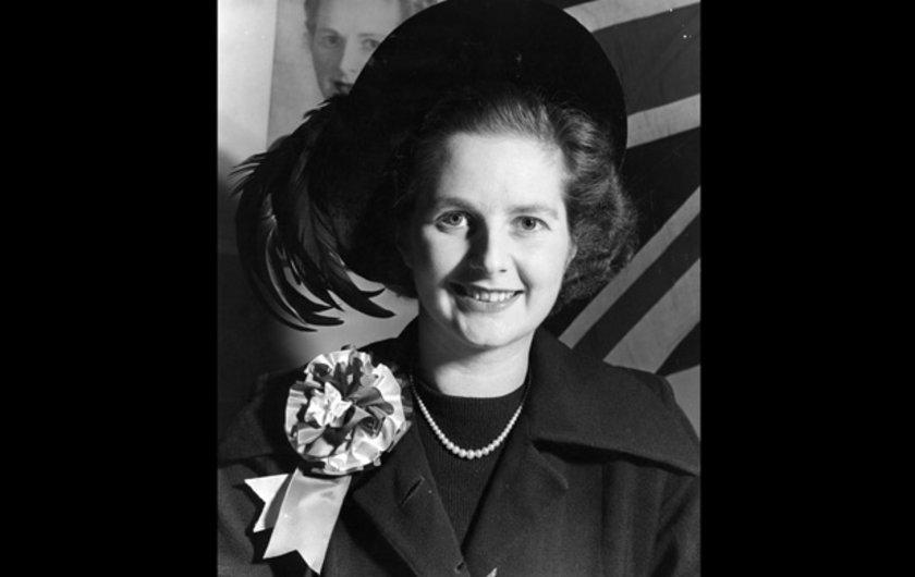 1950-1951 genel seçimlerinde Dartford'tan adaylığını koyan Thatcher adaylık seçimini kaybetmiş olsa bile tek kadın olmasıyla ve en genç adayın o olmasıyla dikkatleri üzerine toplamayı başardı.