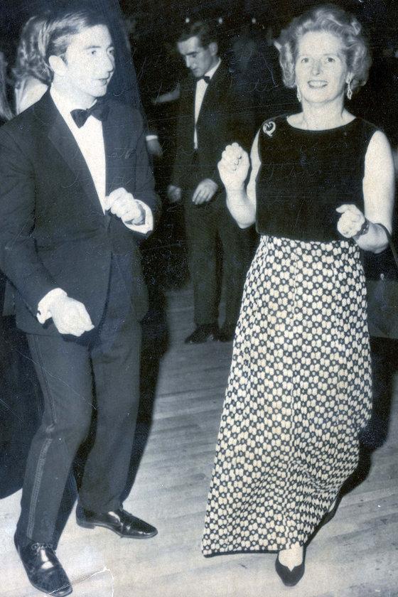 Ekim 1970- Roger Mountford'la Blackpool'daki Muhafazakar Parti Konferansı'nda