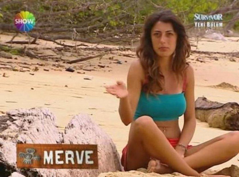 Survivor galiplerinden Merve Oflaz adada sadece kilo kaybetmekle kalmadı...