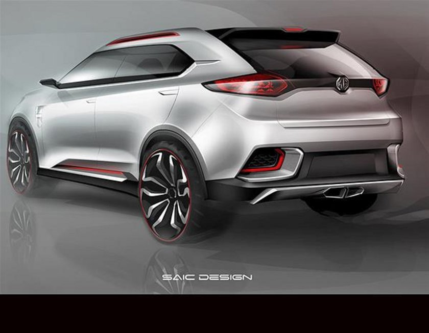 MG CS Concept SUV