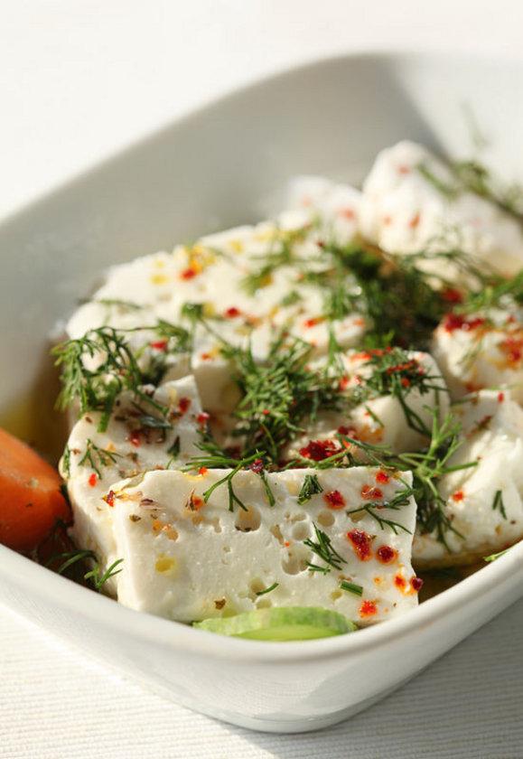 - Keçi sütü, keçi peyniri, koyun peyniri, yoğurdu, soya peyniri tofu. (İnek ürünlerinden sadece kefir kullanılabilir.)