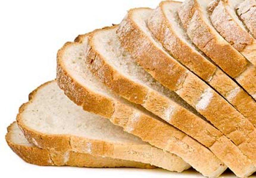 - Her türlü beyaz ekmek, beyaz undan yapılan makarna, poğaça ve açma