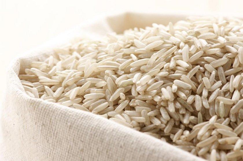 - Beyaz pirinç
