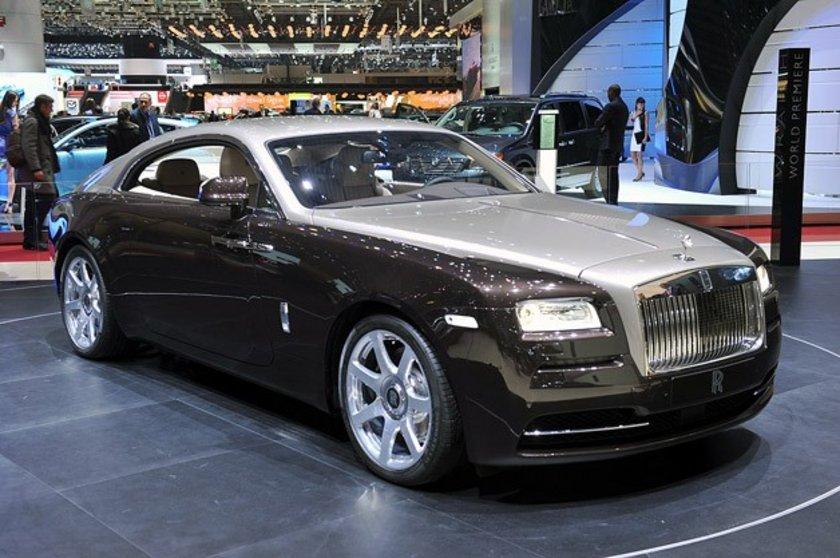Rolls Royce Wraith Geneva