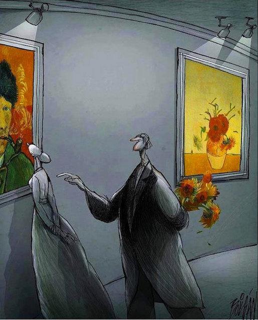 Sosyal mesaj veren o karikatürler