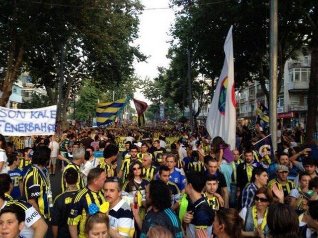 Fenerbahçe yürüyüşü