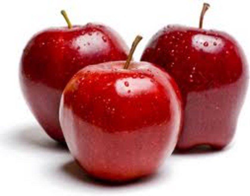 Elma: İnsan doğasına faydalıdır, mideyi güçlendirir.