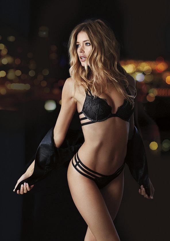Ünlü iç giyim markası Victoria's Secret'ın online kataloğunun çekimleri yapıldı.