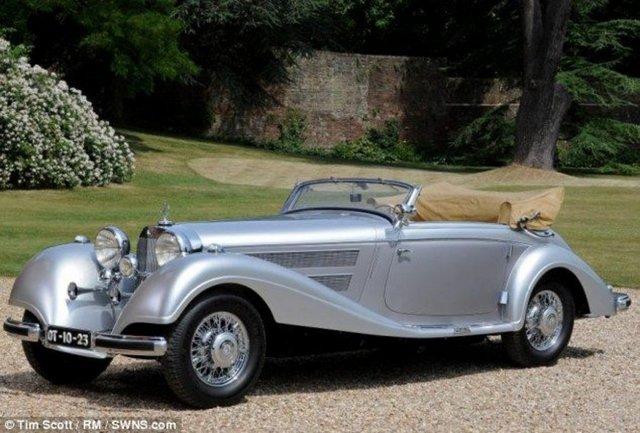39 gizemli milyoner 39 in mercedes koleksiyonu 1 ekonomi for Mercedes benz old models for sale