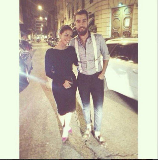 Fatih Terim'in moda blogger'ı olan kızı Buse Terim ile Seda Sayan'ın Milano'da okuyan oğlu Oğulcan,Milano'da buluştu.
