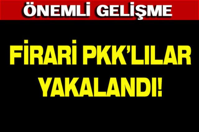 Bingöl M Tipi Kapalı İnfaz Kurumu'ndan tünel kazarak dün kaçan PKK'lı 18 tutuklu ve hükümlü merkeze bağlı Ortaçanak Köyü kırsalında yakalandı.İçişleri Bakanı Muammer Güler PKK'lıların silahsız yakalandığını açıkladı.