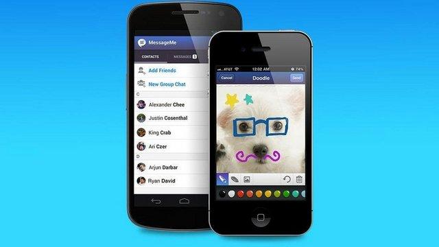 1- MessageMe: Bu yılın ilk aylarında hızlı yükselen bir uygulama olarak akıllı telefon kullanıcılarının hayatına giren MessageMe, iPhone ve Android ile çalışan mobil cihazlar için geliştirilmiş.