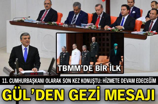 TBMM Genel Kurulu yeni yasama yılının açılışı için Meclis Başkanı Cemil Çiçek'in başkanlığında toplandı. GÜL'ÜN KONUŞMASI İÇİN TIKLAYIN