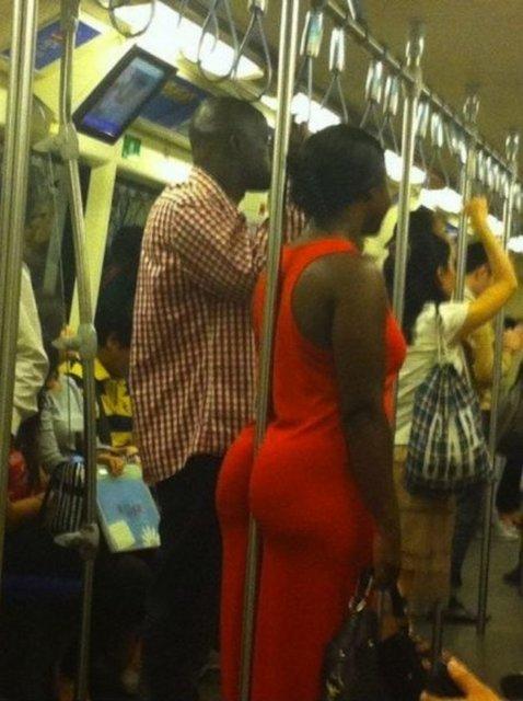 Toplu taşıma araçlarındaki sıra dışı insanlar...