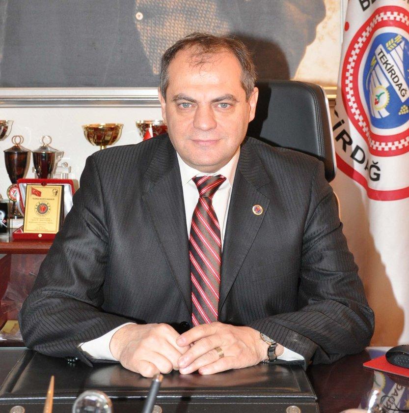 TEKİRDAĞ... CHP'li Adem Dalgıç 2009'da %48,79 ile kazanmıştı. AK Parti'in Tekirdağ Belediye Başkan Adayı Mustafa Yel oldu