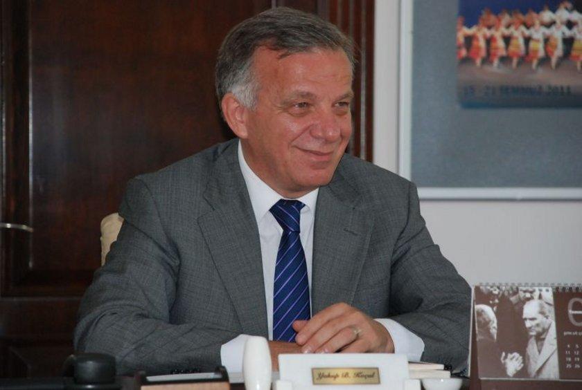 AK Parti Yalova Belediye Başkan adayı Yakup Koçal. Mevcut Yalova Belediye Başkanı