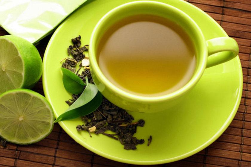 yeşil çay için...