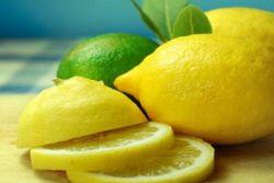 Limonu buzluğa koyun