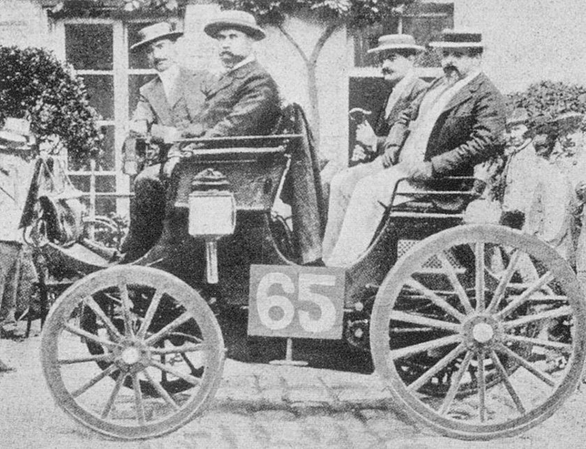 İLK MODEL: 1894 - peugeot 3hp