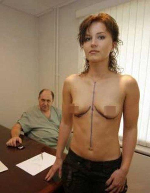 Раскрываем тему - как женщины увеличивают грудь (26 фото) .