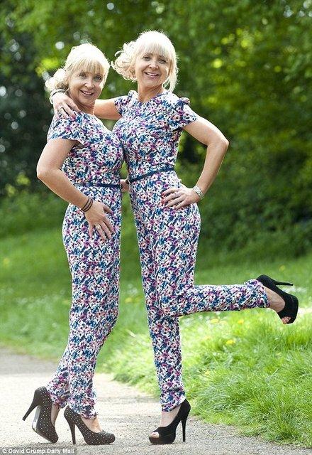 İngiltere bu ikizleri konuşuyor!