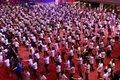 Filipinlerde kanser araştırmaları için 1000 doktor 5 dakika boyunca dans etti