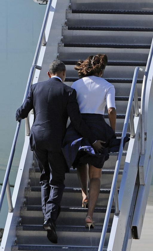 ABD Başkanı Barack Obama ve eşi ABD'nin Teksas eyaletine bağlı Austin şehrinde \