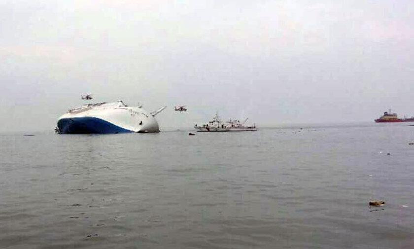 Sahil güvenlik yetkilileri, batmakta olan gemiden en az 179 yolcunun kurtarıldığını duyurdu.