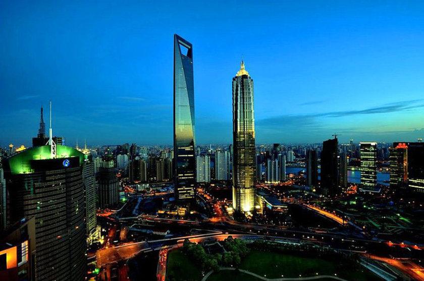 <b>6. Shanghai World Financial Center</b> (soldaki)\n<br>Shanghai, China, 492m