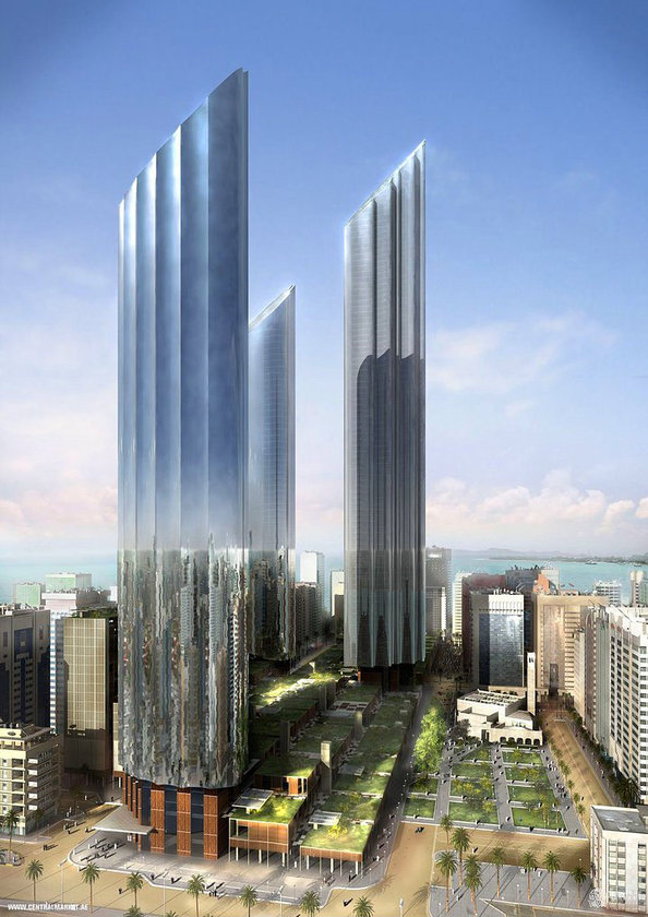 <b>21. Central Market Project</b> (yapım aşamasında)\n<br>Abu Dhabi, UAE , 381m