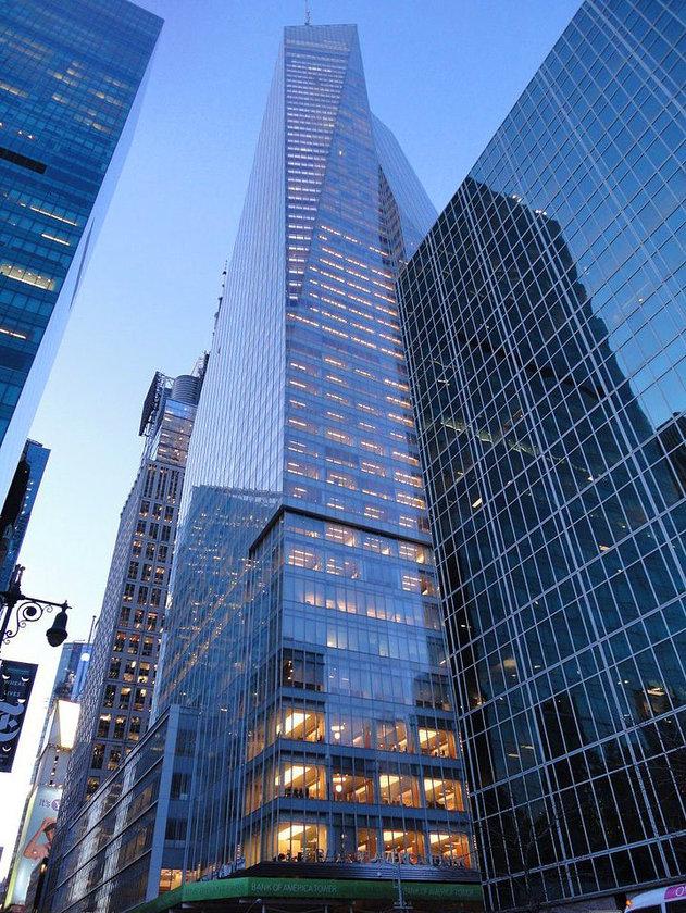 <b>27. Bank of America Tower</b> (NY)\n<br>New York City, USA, 366m