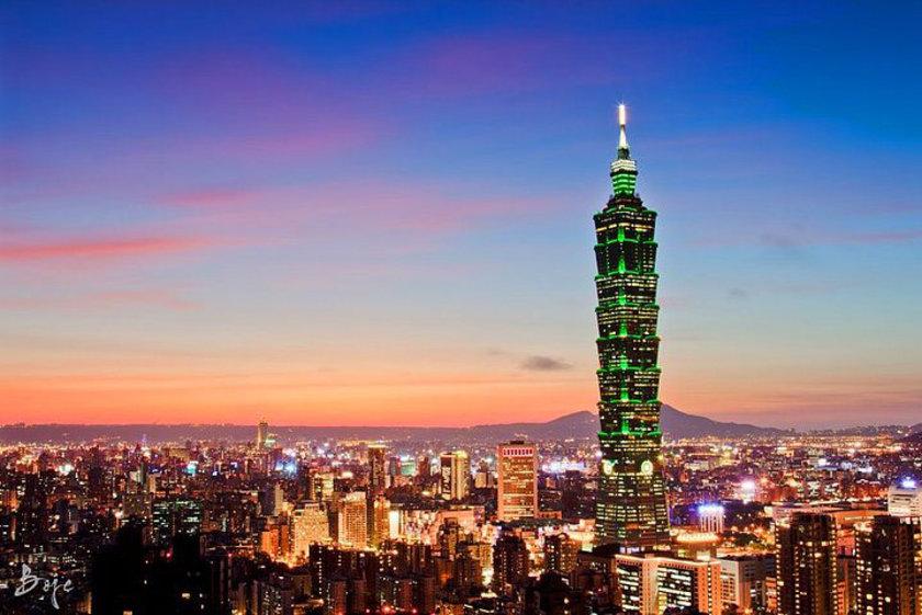 <b>5. Taipei 101</b>\n<br>Taipei, Taiwan, 509m