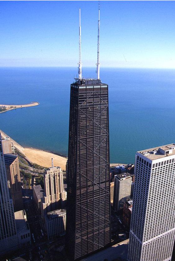 <b>36. John Hancock Center</b>\n<br>Chicago, USA, 344m