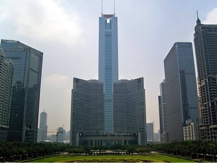<b>19. CITIC Plaza</b>\n<br>Guangzhou, China, 391m