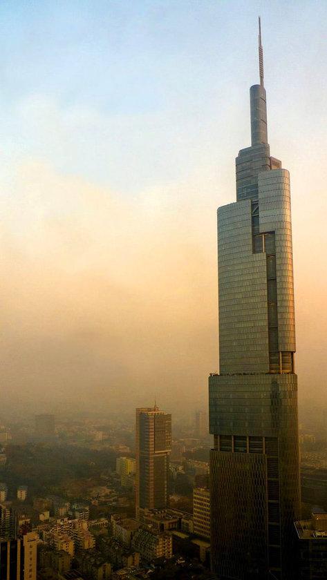 <b>9. Zifeng Tower</b>\n<br>Nanjing, China, 450m