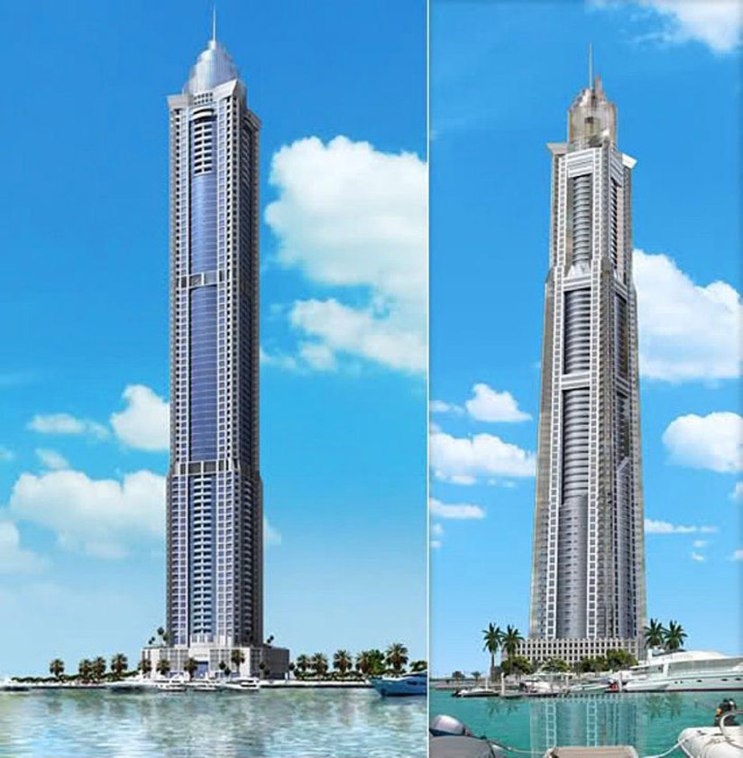 <b>41. The Marina Torch</b>\n<br>Dubai, UAE, 336m