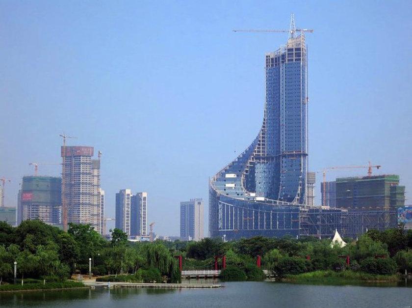 <b>39. Hefei Feicui TV Tower</b> (yapım aşamasında)\n<br>Hefei, China, 339m