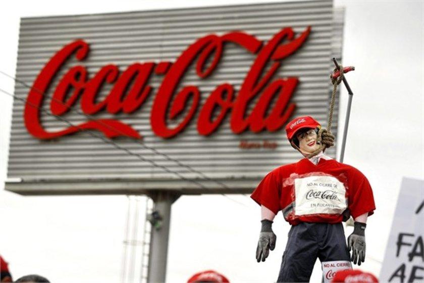 12- Coca-Cola\n<br>Marka değeri 33,722 milyar dolar.