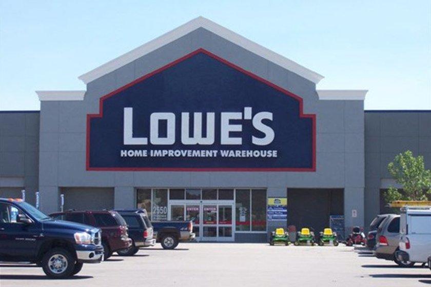 91- Lowe's\n<br>Marka değeri 12,629 milyar dolar. \n