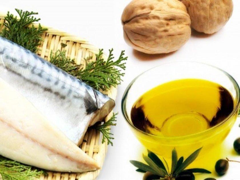 <b>Omega 3:</b> Balık (somon, uskumru),semizotu ve yağlı tohumlarda bulunur. Kan basıncını düşürücü etkisi çalışmalarca kanıtlanmıştır. Haftada 2 gün balık tüketimi önerilmektedir.