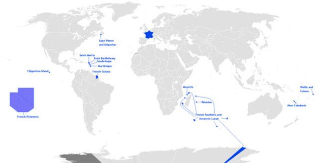 1. En çok zaman diliminde toprağı bulunan ülke - Fransa Sahip olduğu tüm toprakları göz önünde bulundurursanız, en fazla zaman diliminde toprağı olan ülke Fransa'dır. Ardından gelen ABD 11, Rusya ise 9 zaman dilimini kapsamaktadır.