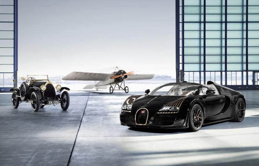 """Zamanında dünyanın en hızlı yol otomobillerinden biri olan Type 18 """"Black Bess"""", bugün dünya hız rekorunu elinde tutan Bugatti Veyron'un da selefi olma özelliğini taşıyor."""