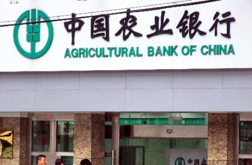 3- Agricultural Bank of China \n