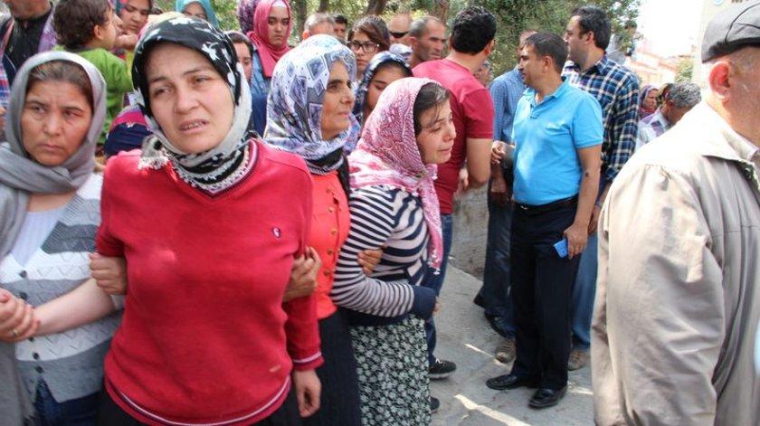 İlçe Müftüsü İbrahim Köksal'ın kıldırdığı cenaze namazından sonra Mustafa Kaya'nın cenazesi Yeni Mezarlığa götürülerek defnedildi.