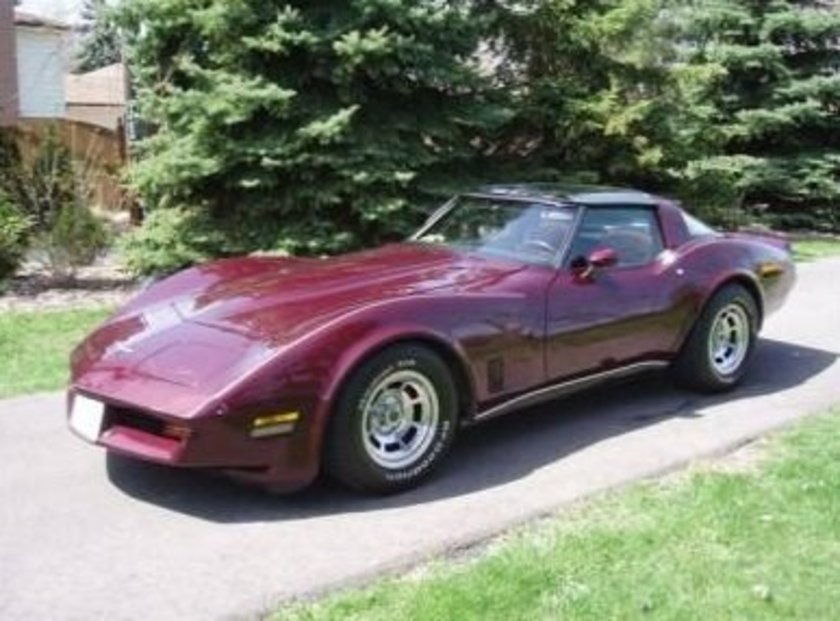1980 Corvette 305 ''California\n