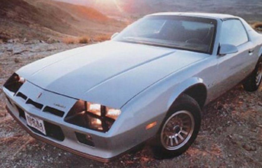 1982 Camaro Iron Duke