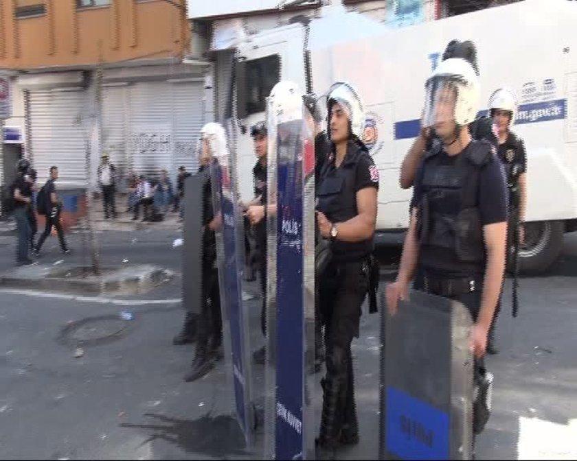 Olaylar sırasında Uğur Kurt'un vurulması üzerine akşam saatlerinde çok sayıda gösterici Darülaceze Caddesi üzerinde toplanmıştı.