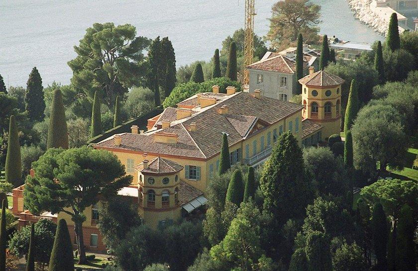<p>3) Villa Leopolda - $ 750,000,000</p>