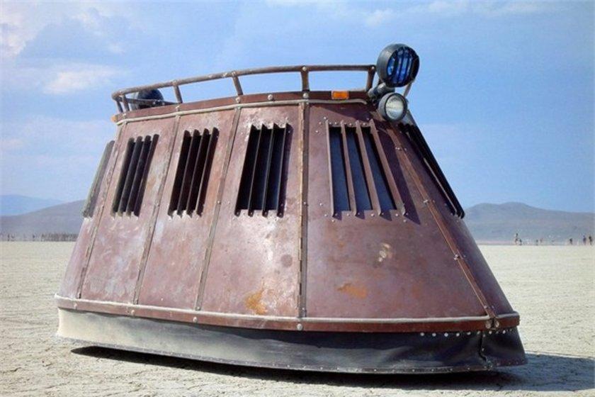 Kişisel kara keşif aracı\n<br>20 bin dolar.